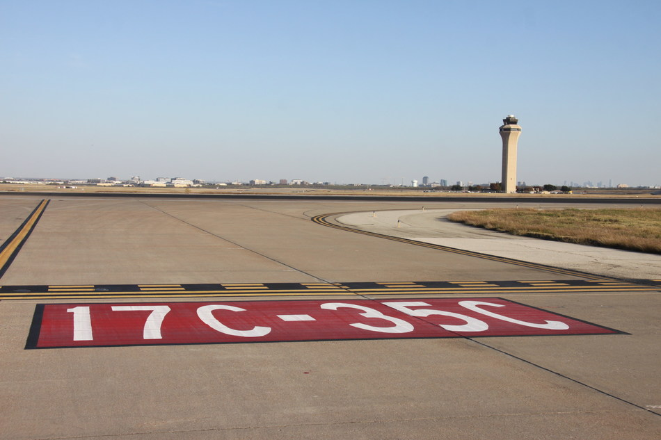 DFW Airport Runway 17-C/35-C will be rehabilitated next year thanks in part to an FAA grant of $52 million.