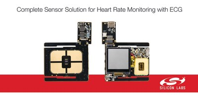 Silicon Labs' new Si117x biometric sensor modules add ECG measurement for advanced heart rate monitoring in wearables.