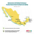 Mexicos turistdestinationer er åbne og klar til at byde dig velkommen