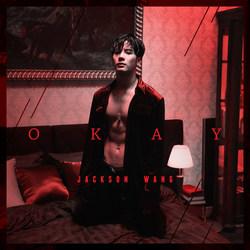 "Jackson Wang, ""Okay"" Single Cover Art"
