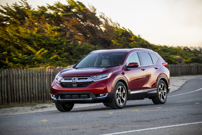 Honda CR-V Honored as Motor Trend 2018 SUV of the Year