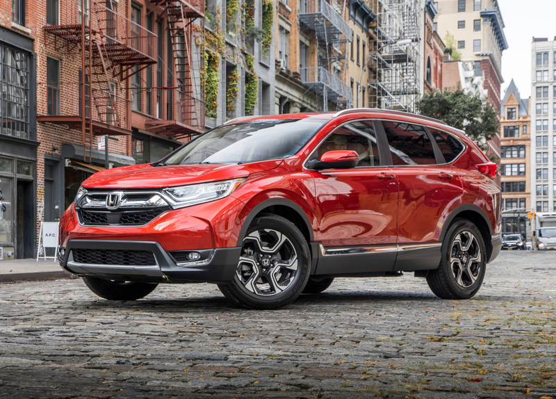 2018 MOTOR TREND SUV of the Year Winner: 2017 Honda CR-V