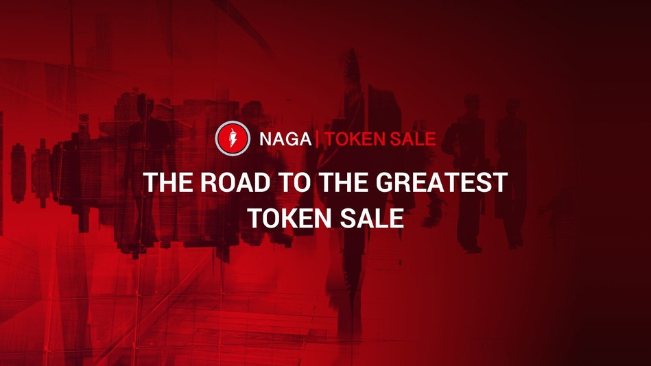 SwipeStox Creators The NAGA Group Absolutely Crushing It With Their Token Pre-Sale (PRNewsfoto/NAGA Token Sale)