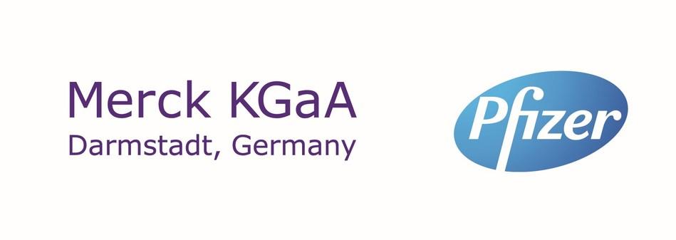 Merck KGaA Pfizer Logo (PRNewsfoto/Merck KGaA, Darmstadt, Germany)