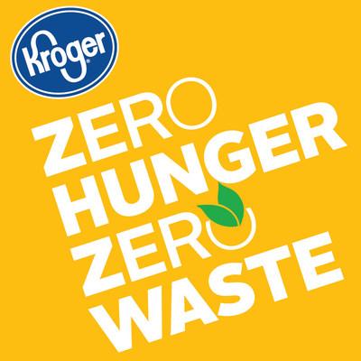 Logo: Zero Hunger   Zero Waste (PRNewsfoto/The Kroger Co.)