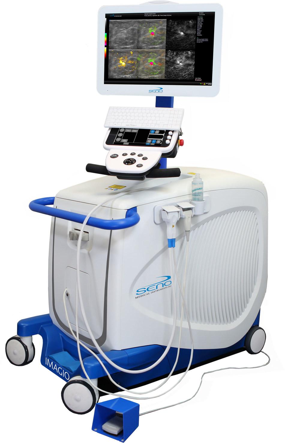 Imagio™ Opto-Acoustic Breast Imaging System (PRNewsfoto/Seno Medical Instruments, Inc.)
