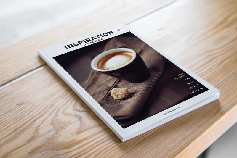 Inspiration, le magazine Vol. 1 (Groupe CNW/Centre du rasoir)