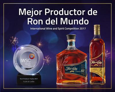 Flor de Caña nombrado Mejor Productor de Ron del Mundo