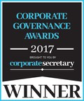Voya Financial awarded Corporate Secretary Magazine's Corporate Governance Award for Best Ethics and Compliance Program for the second consecutive year