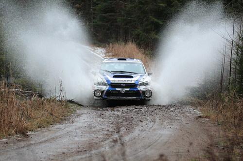 Subaru Rally Team Canada Takes Home Decisive Tall Pines Win (CNW Group/Subaru Canada Inc.)