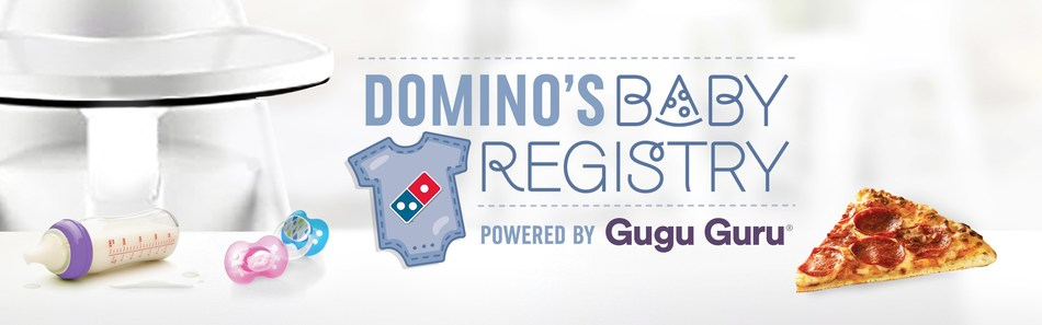 Domino's has a special delivery: a baby delivery, that is. Pizza-loving parents-to-be can now create a baby registry at dominosbabyregistry.com.