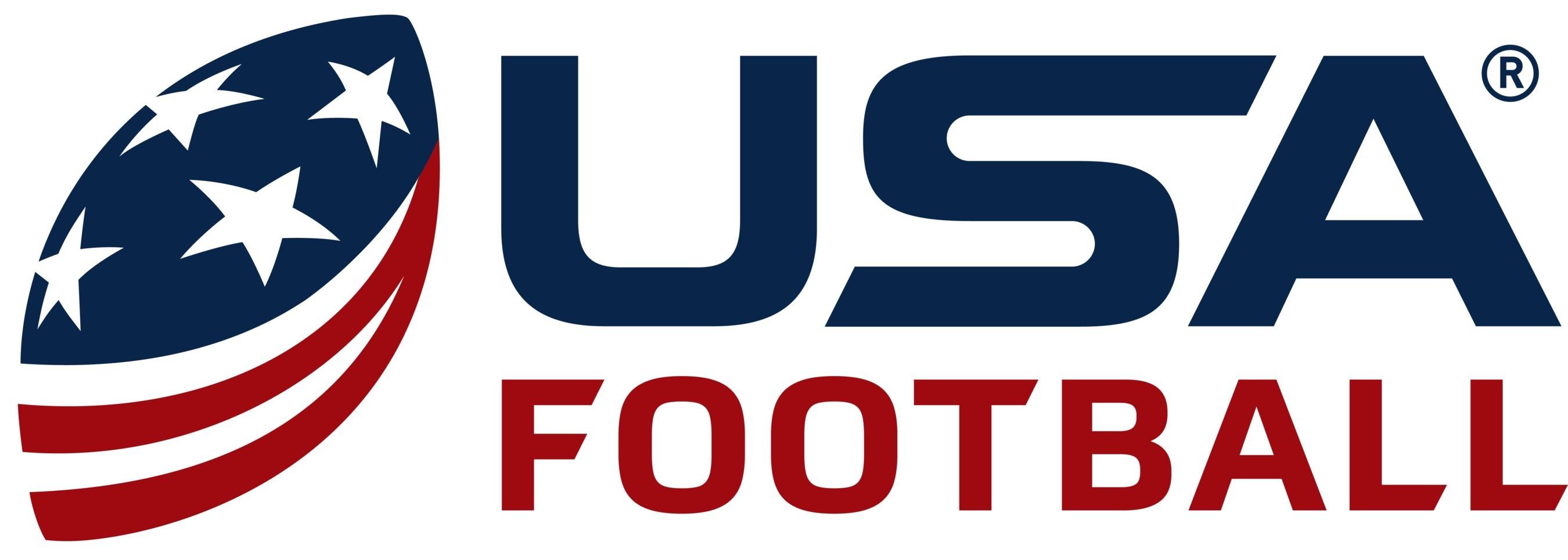 Official USAFB logo. (PRNewsfoto/USA Football)