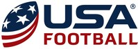 Official USAFB logo. (PRNewsfoto/USA Football)