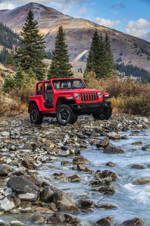 All-new 2018 Jeep(R) Wrangler