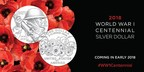 Images of the U.S. Mint's new 2018 World War I Centennial Silver Dollar