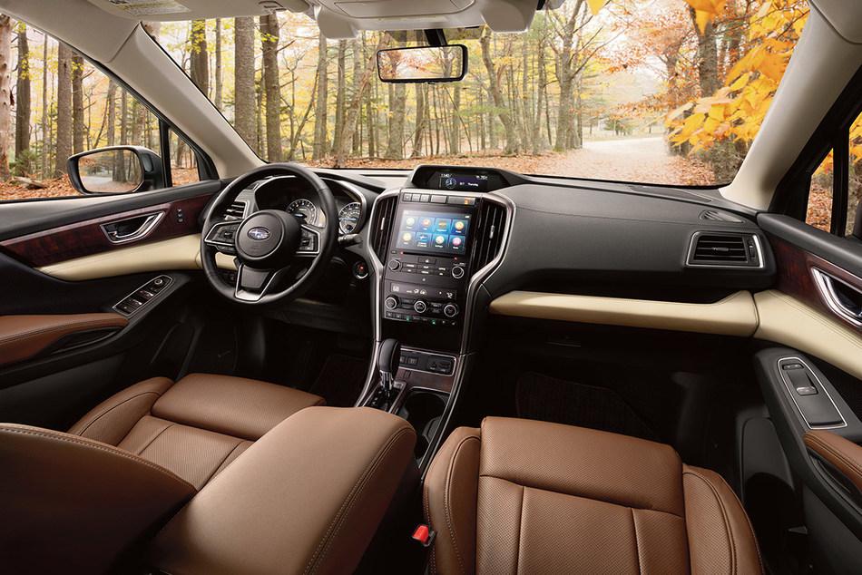 Inauguration au Salon de Los Angeles du tout nouveau VUS Subaru Ascent 2019 à trois rangées de sièges. (Groupe CNW/Subaru Canada Inc.)