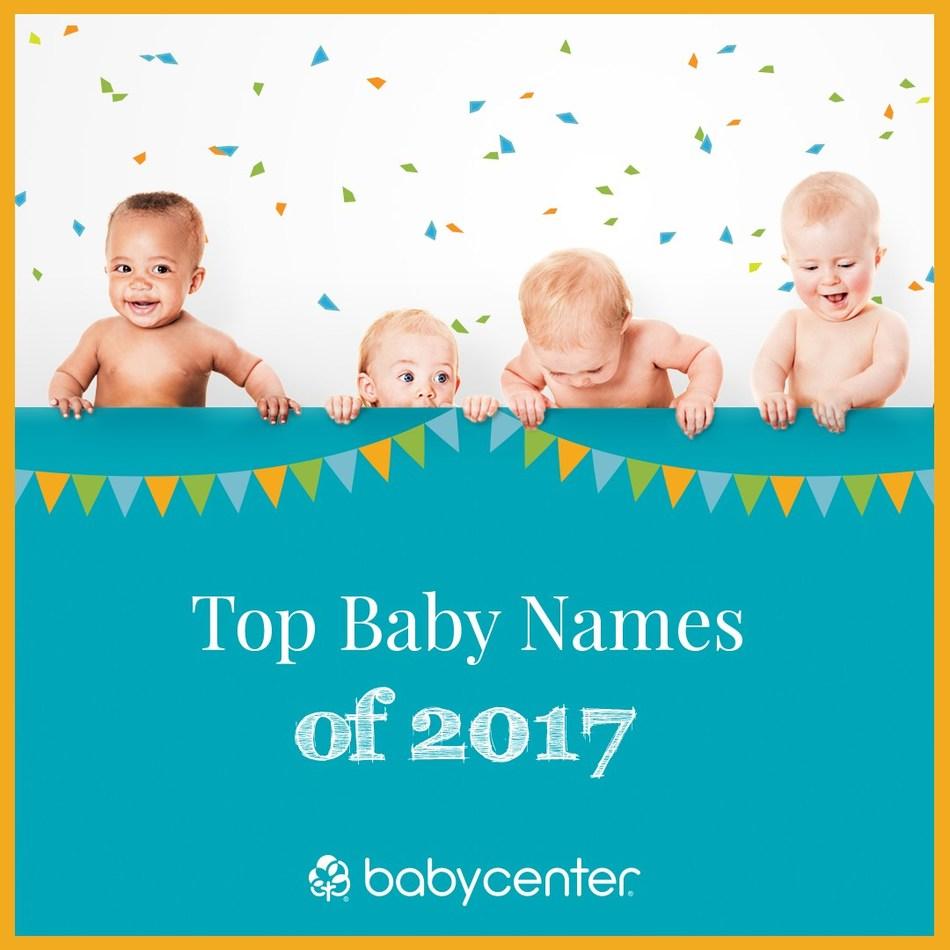 Top Baby Names of 2017