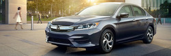 Car shoppers can find deals on select Honda vehicles, like the 2017 Accord Sedan CVT LX, at Garden State Honda during the Happy Honda Days sales event.