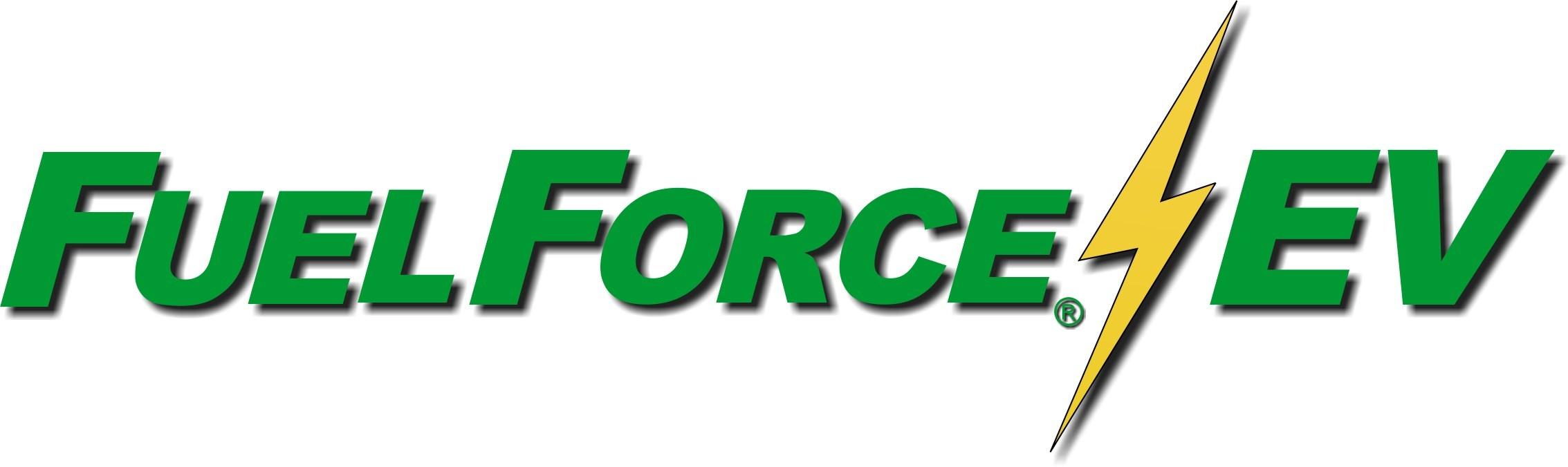 FuelForce EV Logo (PRNewsfoto/Cyber Switching,Multiforce...)