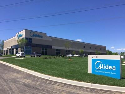 Midea's R&D center in the US