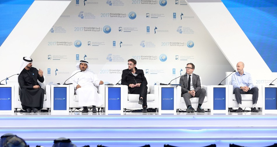 Knowledge Summit 2017 Concludes in Dubai, Sheds Light on Fourth Industrial Revolution and the Future (PRNewsfoto/Mohammed bin Rashid Al Maktoum)