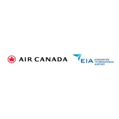 Logos: Air Canada, Edmonton International Airport (CNW Group/Air Canada)
