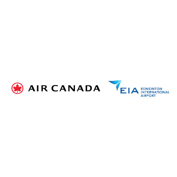 Logos: Air Canada, Edmonton International Airport (CNW Group/Air Canada)