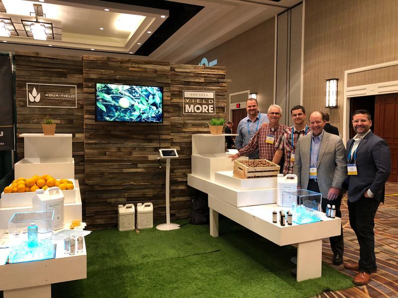Aqua-Yield team at Agricultural Retailers Association,Phoenix, AZ November 29,2017