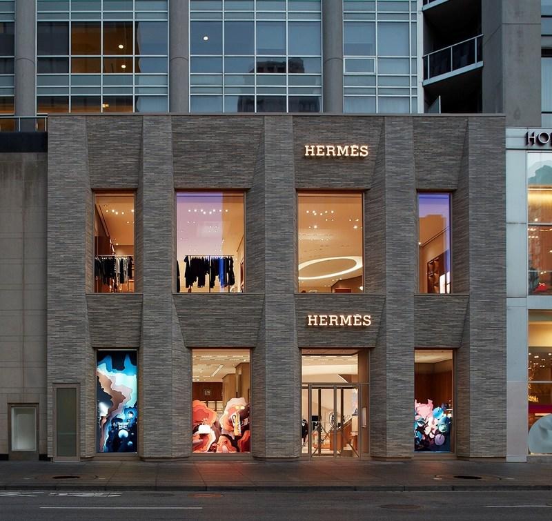 Hermès Toronto at 100 Bloor Street West (CNW Group/Hermes Canada inc.)