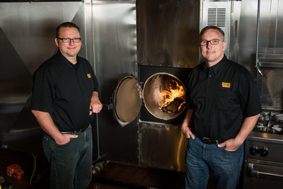 Dickey's owners Kevin and Randy Daniel open their third Dickey's Barbecue Pit location in Springboro.