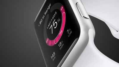Diabetes management right from your One Drop | Apple Watch (PRNewsfoto/One Drop)