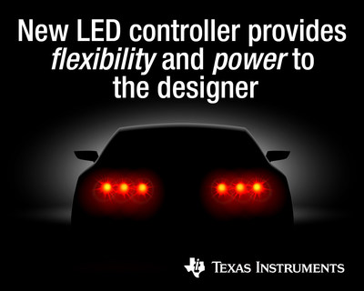 Achieve higher power, better reliability and thermal dissipation in automotive LED lighting systems by selecting a controller and external MOSFET
