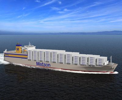 Matson 'Kanaloa Class' vessel
