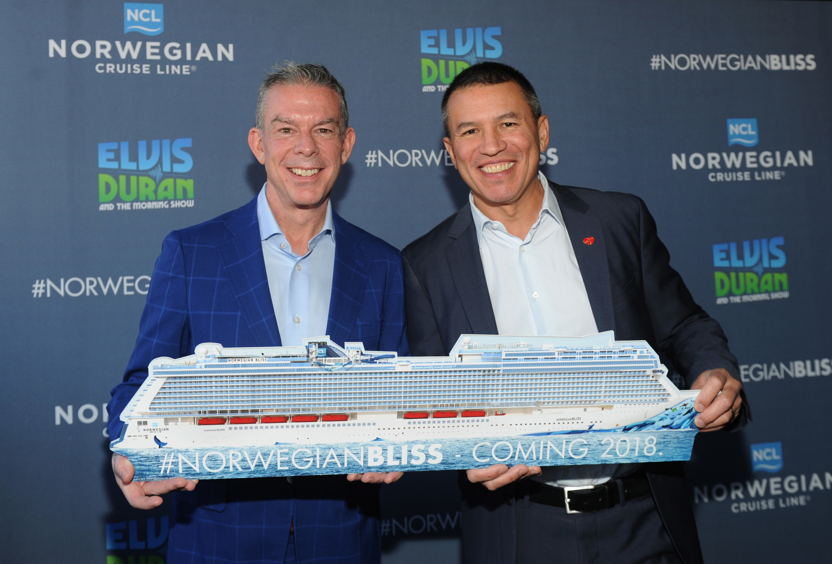 Norwegian Cruise Line Names Top On Air Personality Elvis