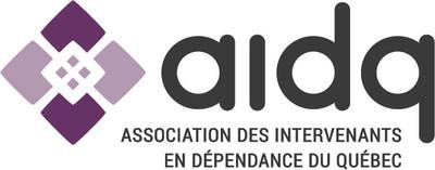 Logo : Association des intervenants en dépendance du Québec (AIDQ) (Groupe CNW/Association des intervenants en dépendance du Québec (AIDQ))
