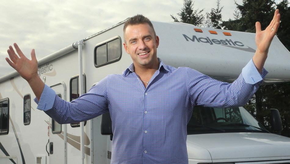 Michael McNaught, CEO of RVezy.com (CNW Group/RVezy Inc)