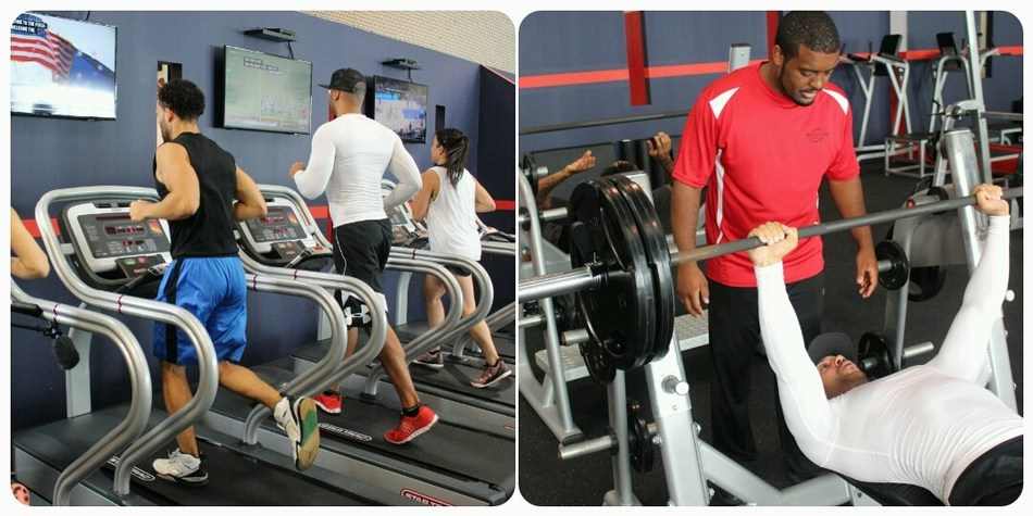 Fitness: Weight and Cardio Rooms