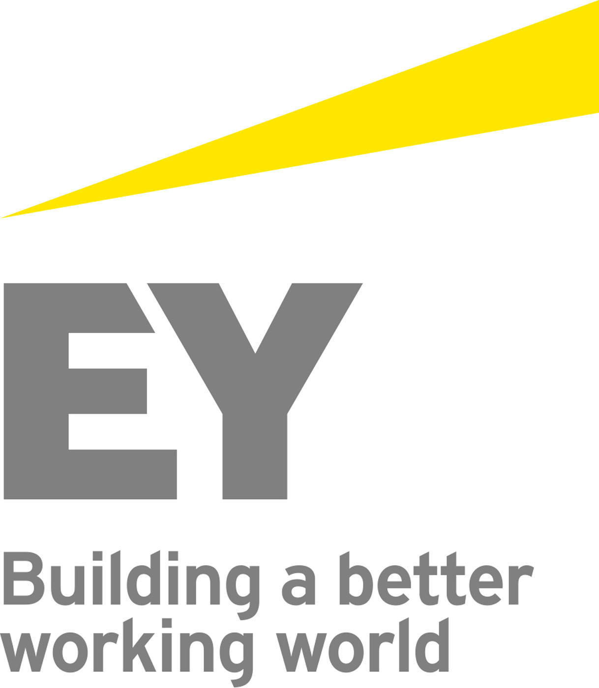 Building a better working world logo. (PRNewsFoto/Ernst & Young)