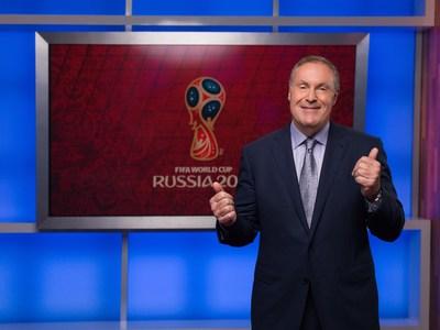 Andres Cantor, comentarista de Telemundo Deportes (PRNewsfoto/Telemundo)