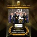 Prestigious Rising Brand of Asia 2017-18 - Koochie Global Winner (PRNewsfoto/Koochie Global)