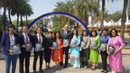 Mr. Doug DeVos, President, Amway along with Women Entrepreneurs, releasing the Amway India Entrepreneurship Report at the GES 2017, Hyderabad (PRNewsfoto/Amway India)