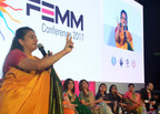 Dr Hema Divakar, FOGSI Ambassador to FIGO and the National Convenor of Manyata addressing the gathering at the Launch of 'Manyata' - a nationwide initiative to improve the quality of maternal and neonatal care in private sector in India by FOGSI in association with MSD for Mothers, MacArthur Foundation and Jhpiego (an affiliate of Johns Hopkins University) (PRNewsfoto/FOGSI)