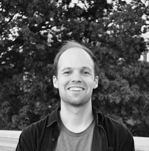 Mikko Harvey, winner of the 2017 RBC/PEN Canada New Voices Award. (CNW Group/PEN Canada)