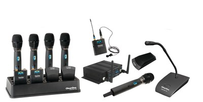 DIALOG 20 is the compact, feature-rich and complete 2-Channel Wireless Microphone System for smaller venues.