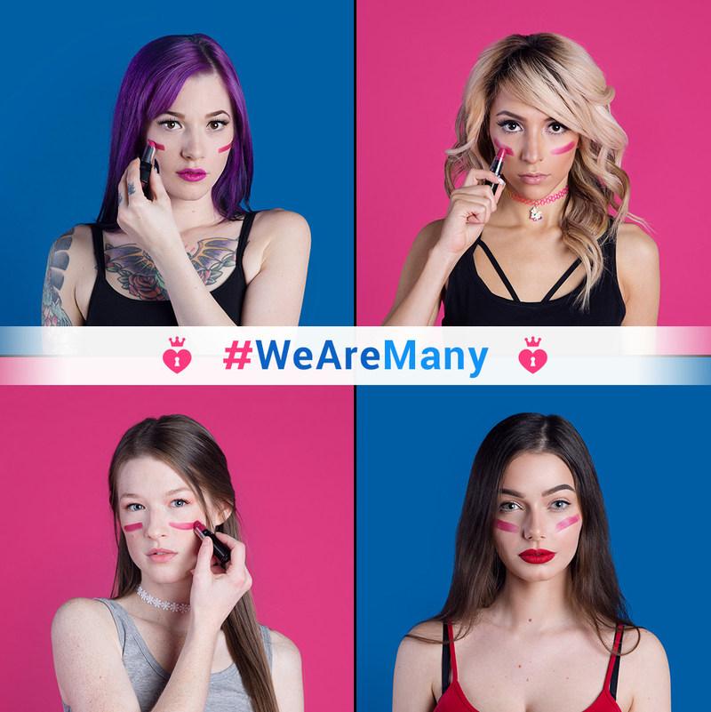 #WeAreMany Campaign (CNW Group/Many Vids)