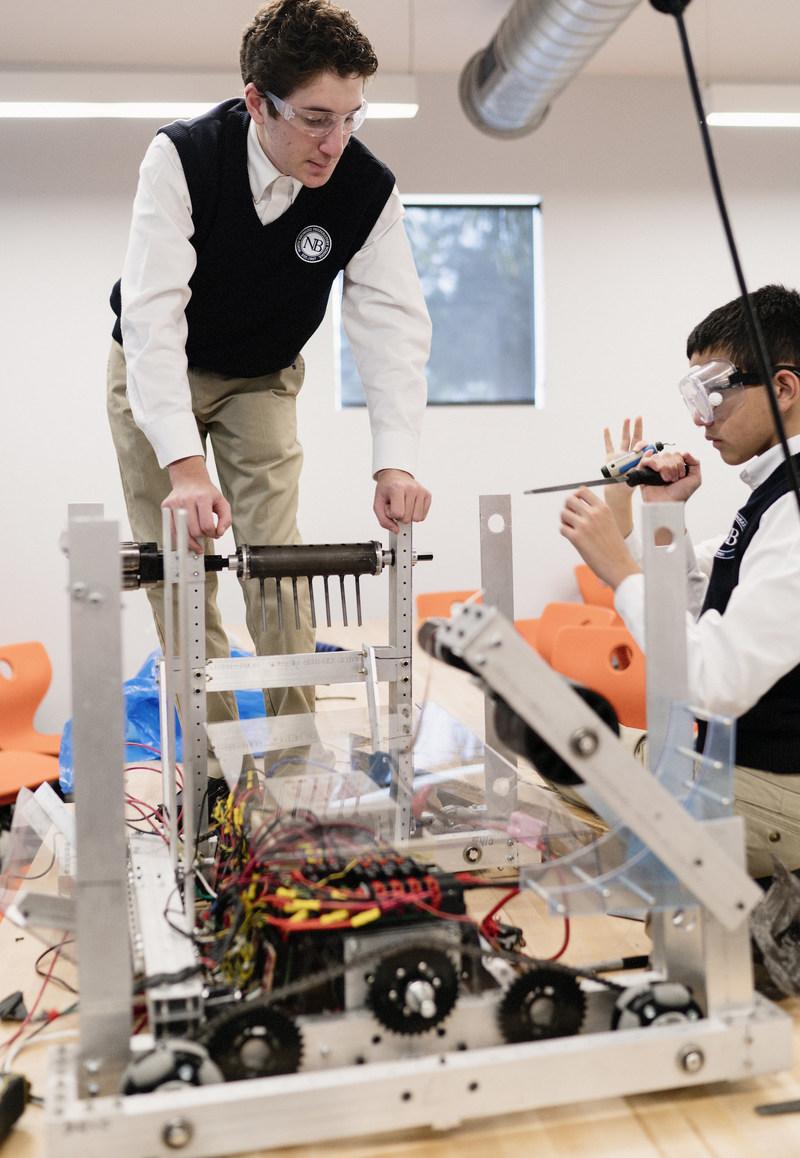 NORTH BROWARD PREPARTORY SCHOOL HOST FIRST TECH ROBOTICS COMPETITION ON SATURDAY, DECEMBER 2, 2017 (13 high schools participating)