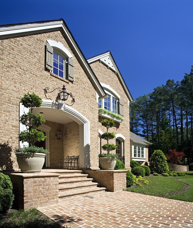 Fired-clay brick exteriors also save on energy costs through its dense thermal mass and other benefits.
