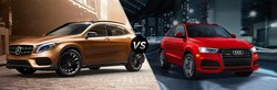 Chicago drivers can compare the new 2018 Mercedes-Benz GLA vs the 2018 Audi Q3 crossover SUV on the Loeber Motors website.