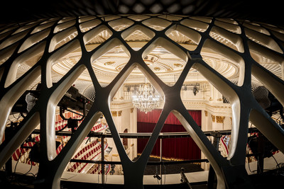 View from the reverberation gallery at Staatsoper Unter den Linden / Gordon Welters (PRNewsfoto/Staatsoper Unter den Linden)
