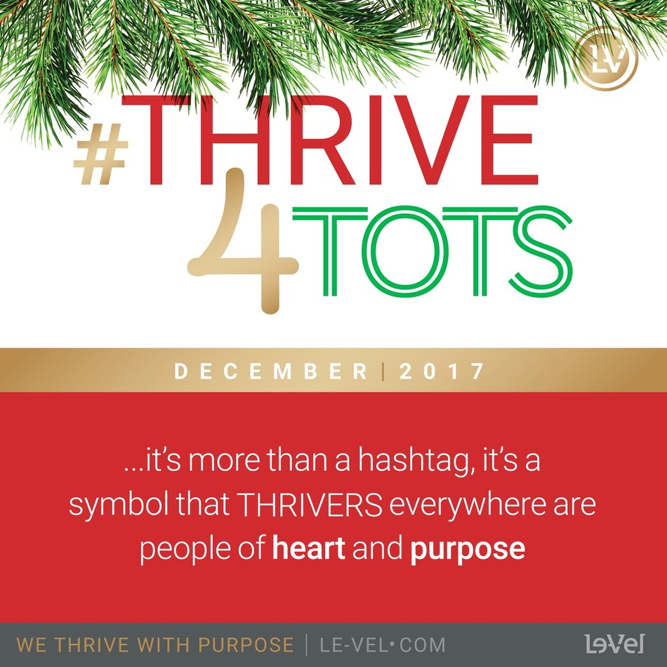 Le-Vel Brands has launched its limited-edition Holiday Derma Fusion Technology (DFT) and the #ThriveforTots campaign, in which $5 from every purchase of Holiday DFT will be donated to the U.S. Marine Corps Reserve Toys for Tots Program.